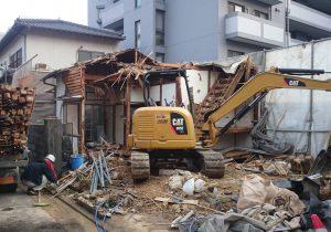 住宅解体工事
