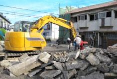 解体工事熊本勲栄では 中間マージンカット