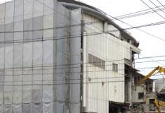 解体工事熊本勲栄では万全の騒音対策